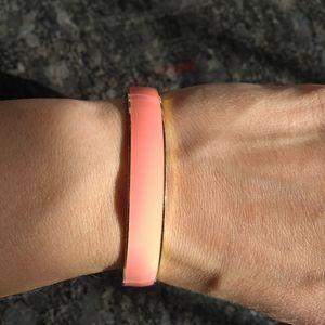 Peach Bangle Bracelet